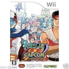 Used Nintendo Wii Tatsunoko vs Capcom Cross Generation