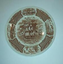 A Meakin Fair Winds Friendship of Salem Dinner Plate