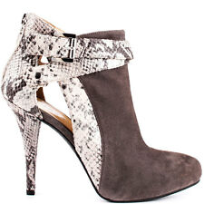 HOLIDAY SALE GUESS Conetta - Gray Multi Suede Guess boots heels Shoes 5 M