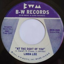 LINDA LEE: DANGER / AT THE SIGHT OF YOU rare 45 B-W teen COUNTRY