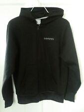 CARBRINI Boy's BLACK Zipped Hoodie Size  12 -13 yrs 100% Polyester