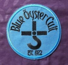 Blue Oyster Cult Patch Classic Rock Occult Rock Don'T Fear The Reaper Sew/ Iron