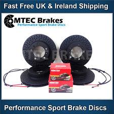 Porsche Boxster 986 2.5 96-99 Front Rear Brake Discs and Pads & Wear Sensors x 4