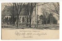 Postcard West Presbyterian Church Bridgeton NJ
