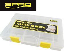 Spro Tackle Box 28x18,5x4,5cm - Angelbox Köder-Box Kunstköder-Box Anglerbox Box