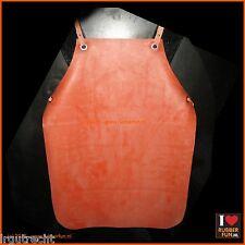 Rubber apron – heavy duty – clinical red - gummischürze