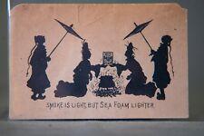 Asian Silhouette Advertising Blotter Gantz, Jones, & Co's Sea Foam Baking Powder