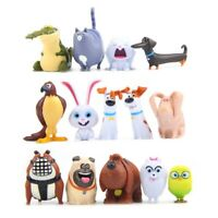 The Secret Life of Pets 14Pcs Action Figure Gidget Doll Kids Gift Collection Toy
