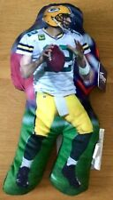 "Aaron Rodgers Green Bay Packers NFL 15"" Figure Pillow"