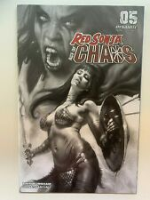 Red Sonja Age of Chaos #5 1:40 Parrillo B&W Variant Dynamite Comics