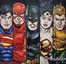 DIAMOND DOTZ - Justice League Fabulous Five - Facet Art - 65 X 62cm - DDDC.1001
