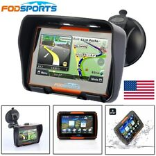 "Waterproof 4.3"" Motorcycle GPS Navigator Navigation Car Moto SAT NAV Win CE Maps"