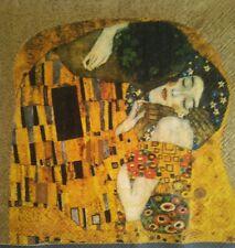 Servilletas para decoupage, 4 unidades.Klimt.Decoupage Paper Napkins