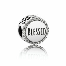 Genuine Pandora Blessed Sterling Silver Charm ENG792016CZ
