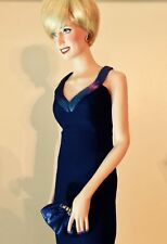 Franklin Mint-Princess of Style-porcelain portrait doll-Princess Diana