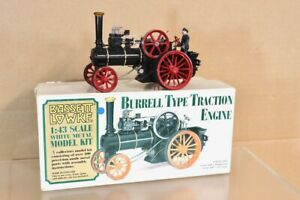 BASSETT LOWKE 1/43 BURRELL TYPE TRACTION ENGINE BOXED nw
