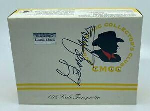 GEORGE JONES Signed Autograph CMCC Country Music Diecast Car Transporter JSA