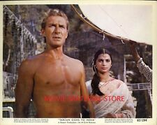 "Jock Mahoney Tarzan Goes To India Original Set of 12 8x10"" Photos #M2411"