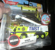 PLANES FIRE AND RESCUE DELUXE VEHICLE RYKER WITH MOVING BOOM, DTBO,