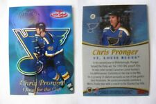 1999-00 Topps Gold Label QC6 Pronger Chris 1/1 quest for the cup RED 1 of 1