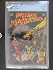 Strange Adventures #18 -NEAR MINT- CBCS 9.0 VF/NM -DC 1952- 3rd HIGHEST GRADE!!!
