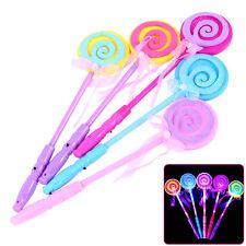 Led Flash Light Magic stick Wand Lollipop Fairy Wand Kid Girl Toy Gift