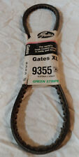 9355 Gates V Belt XL Rubber V-Belt Green Stripe 072053013542
