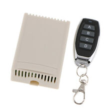 Wireless Remote Control Switch DC 12V 4CH Relay Receiver with RF Transmitter
