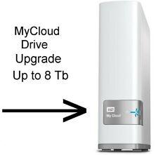 Western Digital My Cloud NAS Upgrade service 2tb to 8tb