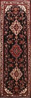 Vintage Floral Traditional Runner Rug Hand-Knotted Oriental Hallway Carpet 4x10