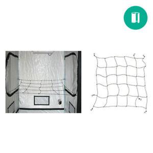 Secret Jardin Web Plant Support 4' x 4' ft WebIT120 SCROG NET Trellis Netting