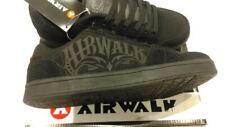 Casual Leather Black AIRWALK Triple X Skate Junior Boys Trainers UK Size 4
