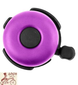 SUNLITE RINGER ALLOY 53MM PURPLE BICYCLE BELL