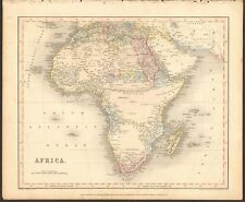 1840 ca ANTIQUE MAP - AFRICA