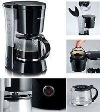 Severin KA 4479 Kaffeeautomat Glaskanne Kaffeemaschine AUTO OFF Warmplatte Black