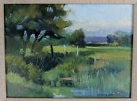 NORMAN JAMES BATTERSHILL (b.1922) Oil Painting On Board ENGLISH LANDSCAPE