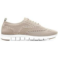 Cole Haan Womens ZeroGrand Knit Lace-Up Wingtip Oxfords Shoes BHFO 3254
