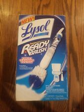 Lysol Ready Brush Toilet Cleaning System, 1 System/Open Box