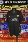 4.5/5 Barcelona boys 13-15 yrs 158-170cm 2013 third football shirt jersey trikot