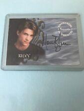 Buffy Tvs - Season 4 - Marc Blucas As Riley Finn Auto Signed Card - A21 - Mint