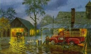 """Dave Barnhouse """"Shelter From The Storm"""", S/N Litho, excellent condition, COA"""