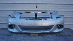 2009-2013 INFINITI G37 G25 Q40 FRONT BUMPER COVER ASSEMBLY 620221NF0H OEM
