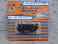 Roco / Herpa Minitanks (NEW) West German Auto Union Munga 1/4 T Jeep Lot 1464