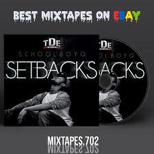 Schoolboy Q - Setbacks Mixtape (CD/Front/Back Cover) Top Dawg