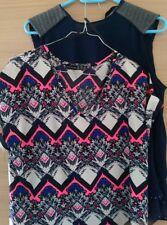 Lot chemisier, t-shirt, débardeur top femme Sfera, Primark 38/40. (Zara, H&M)