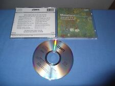 "LUKAS GRAF/RAGOSSNIG ""MINiATURES FOR FLUTE AND GUITAR"" CD CLAVES SWITZERLAND"