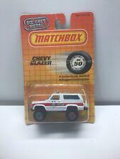 1983 Matchbox #50 CHEVY BLAZER Brand New Sealed Die Cast MB 50 Rare 7 Sheriff