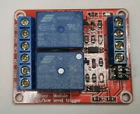 2 Relay Module High Low Level Input Opto Board Songle Electrical Trigger