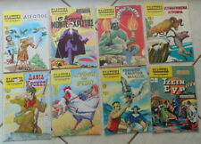 CREECE CLASSIC ILLUSTRATED GREEK COMICS 1980's COLLECTION X 8 AESOP JANE EYRE