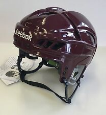 New Reebok 11K NHL/AHL Pro Stock/Retu​rn helmet medium M size ice hockey maroon